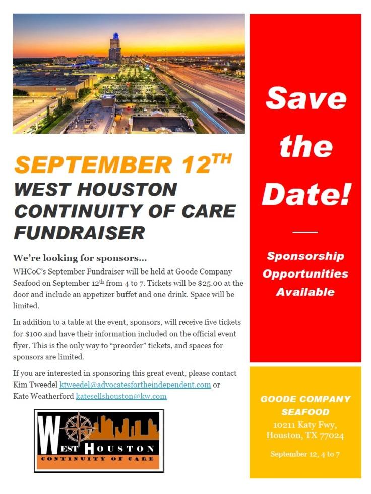 2017 September 12 Fundraiser
